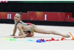 Тестовые соревнования по художественной гимнастике проходят в Минске