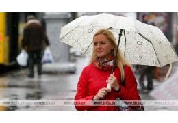 Дожди и грозы ожидаются в Беларуси 6 мая