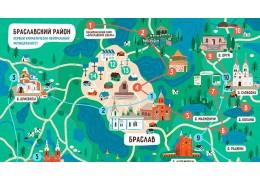 Карта достопримечательностей и экомаршрутов появилась в Браславском районе