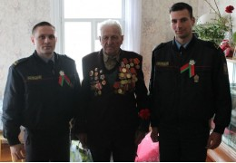 Навестили ветеранов ВОВ в преддверии Дня Победы
