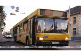 Движение пассажирского транспорта в Минске 9 мая скорректируют