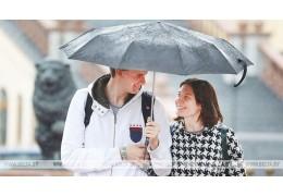 Дожди и до +23°С ожидается в Беларуси в выходные