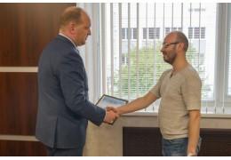 Благодарность за помощь - УВД Брестского облисполкома