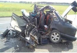 Ивацевичский район: в результате попутного столкновения погиб водитель