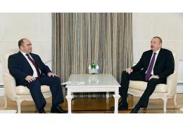 Президент Азербайджана встретился с вице-премьером Беларуси Ляшенко