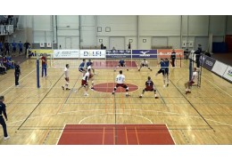 Волейболисты сборной Беларуси проиграли Латвии в первом товарищеском матче