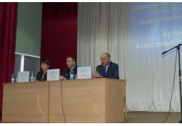 Начальник УВД посетил Ляховичский государственный аграрный колледж