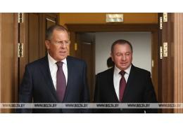 Главы МИД Беларуси и России проведут переговоры в Москве 27 мая
