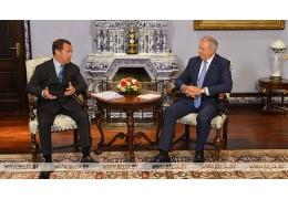 Румас предлагает Медведеву найти развязки по нерешенным вопросам интеграции в СГ