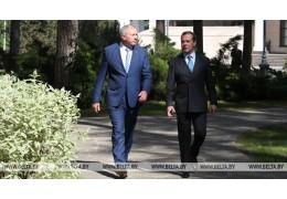 Румас и Медведев проведут встречу в Минске во время II Европейских игр