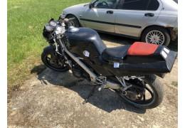 В Ганцевичском районе  «бесправник» на мотоцикле попытался скрыться от  ГАИ