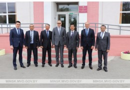 Состоялся визит делегации МВД Республики Узбекистан