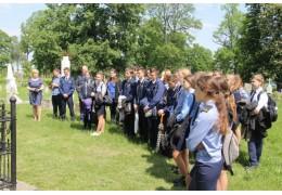 Почтили память погибших сотрудников милиции Пинщины