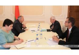 Румас и Рапота обсудили подготовку программы действий по интеграции в СГ