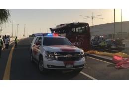 15 туристов погибли в аварии в Дубае