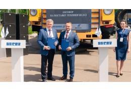 БелАЗ заключил контракты на выставке технологий горных разработок в Новокузнецке