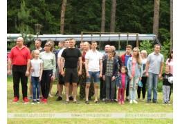 В Барановичах провели семейный праздник «День здоровья»