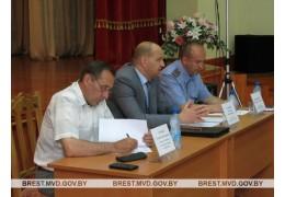 Встреча начальника УВД с коллективом ОАО «Барановичская птицефабрика»