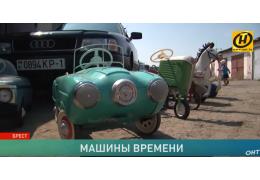 Коллекционер из Бреста реставрирует модели советских машин