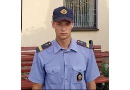 Сотрудник охраны спас человеческую жизнь во время пожара