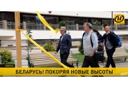 «Маяк Минска» посетили сербские спортсмены и президенты НОК Боснии и Черногории