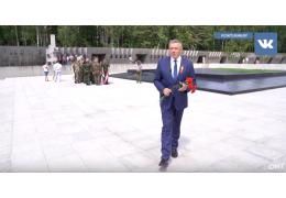 Тысячи белорусов почтили память защитников от немецко-фашистских захватчиков