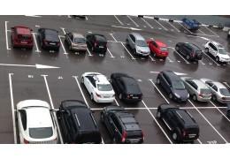 Платная автомобильная  стоянка -  ГУВД Мингорисполкома