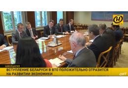 Вступление Беларуси в ВТО положительно отразится на экономике