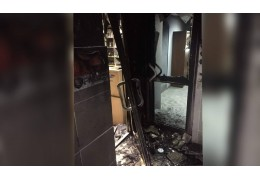 Поджог офиса в Минске: возбуждено уголовное дело