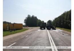 Малоритский район: в ДТП погиб водитель трактора
