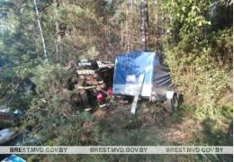 Барановичский район: при опрокидывании автомобиля погибла пассажирка