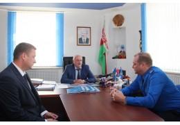 Начальник УСК по Гродненской области провел выездной прием граждан