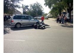 ДТП в Кобрине: столкновение на перекрестке