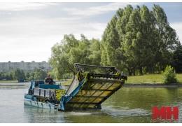 Сезон покоса водорослей в столице почти завершили. «Улов» — 340 тонн