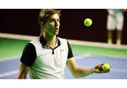 Егор Герасимов вышел в 1/8 финала теннисного турнира в Санкт-Петербурге