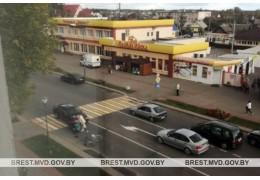 В Березе совершен наезд на велосипедистку, пересекавшую пешеходный переход