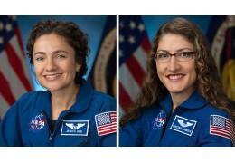 Выход в открытый космос впервые совершат две женщины-астронавта