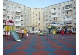 В Заводском районе обустроили спортивную площадку на пустыре