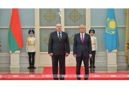Встреча Лукашенко и Токаева проходит в Нур-Султане