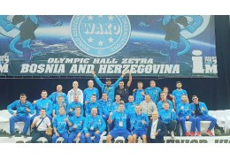 Белорусские кикбоксеры завоевали 9 наград на ЧМ в Сараево