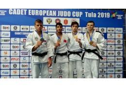 Белорусские дзюдоисты завоевали две медали на молодежном ЧЕ по дзюдо в Ижевске