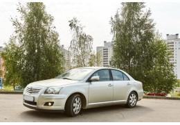 Аренда авто по г. Минску/Беларуси - Toyota Avensis
