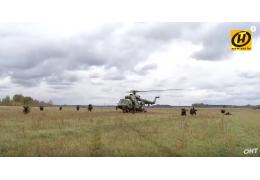 Тактико-специальные учения белорусского спецназа, Марьина Горка