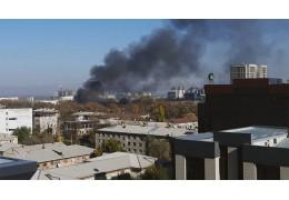 Взрыв произошел в кафе в центре Бишкека