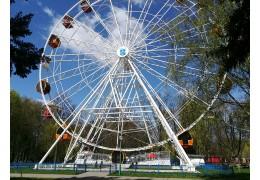 Аттракцион «Колесо обозрения – 40 метров» в г. Бресте