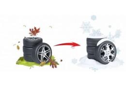 С 27 ноября ГАИ проведет акцию «Лучший тюнинг для машин – установка зимних шин!»