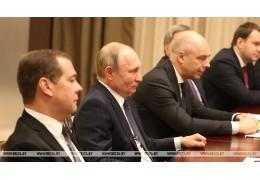 Путин надеется, что Беларусь и Россия получат заметные преимущества от интеграци