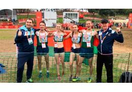 Сборная Беларуси выиграла серебро на чемпионате Европы по кроссу в Лиссабоне