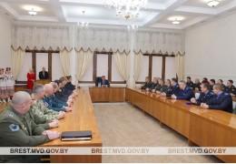 Награды милиционерам из рук мэра - Александра Рогачука