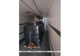 В Барановичском районе задержана фура с 6 тыс литров спиртосодержащей жидкости